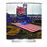 Phillies American Shower Curtain