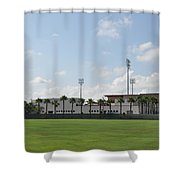 Phillies Brighthouse Stadium Clearwater Florida Shower Curtain