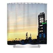 Phillies Stadium At Dawn Shower Curtain