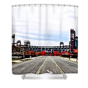 Phillies Stadium - Citizens Bank Park Shower Curtain