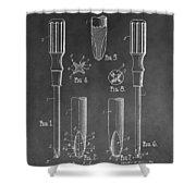 Phillips Screwdriver Patent Shower Curtain