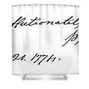 Phillis Wheatley (1753?-1784) Shower Curtain