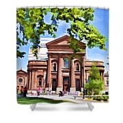Philly Church View Shower Curtain