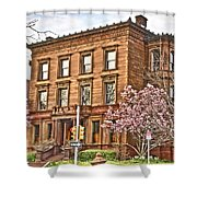 Philly Fairmount View Two Shower Curtain