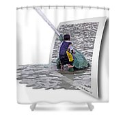 Philly Kid - Oof Shower Curtain