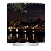 Philly Waterworks At Night Shower Curtain