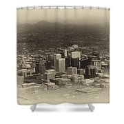Phoenix Az Downtown 2014 Heirloom Shower Curtain
