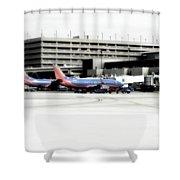 Phoenix Az Southwest Planes Shower Curtain