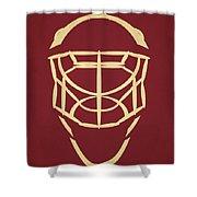 Phoenix Coyotes Goalie Mask Shower Curtain