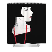 Photo Homage Louise Brooks  Eugene Robert Richee Circa 1927-2012 Shower Curtain