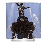 Photo Of Tyler Davidson Fountain In Cincinnati Ohio Shower Curtain