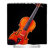 Photograph Of A Complete Viola Violin In Color 3368.02 Shower Curtain