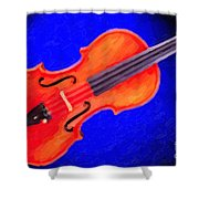 Photograph Of A Complete Viola Violin Painting 3371.02 Shower Curtain