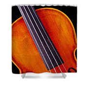 Photograph Of A Upper Body Viola Violin In Color 3369.02 Shower Curtain