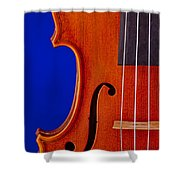 Photograph Of A Viola Violin Side In Color 3372.02 Shower Curtain