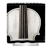 Photograph Or Picture Viola Violin Body In Sepia 3367.03 Shower Curtain