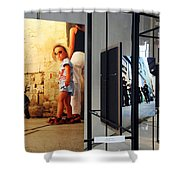 Photographer Kevin Connolly At The Kennedy Center Shower Curtain