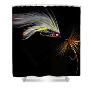 Fly Fishing In Southern Ontario Shower Curtain