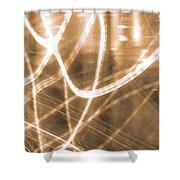 Photon Flow Shower Curtain