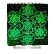 Photon Interference Fractal Shower Curtain