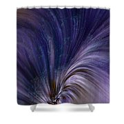 Photonic Cascade At The Sea Of Solitude Shower Curtain