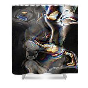 Photonic Totem Shower Curtain