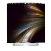 Photons From The Edge Shower Curtain