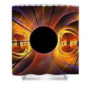 Photosphere Shower Curtain
