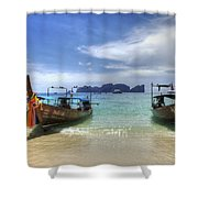 Phuket Koh Phi Phi Island Shower Curtain