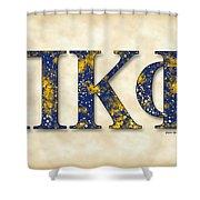 Pi Kappa Phi - Parchment Shower Curtain