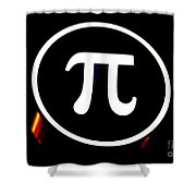 Pi Shower Curtain