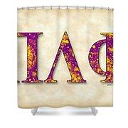 Pi Lambda Phi - Parchment Shower Curtain