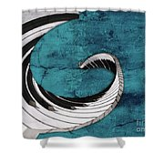 Piano Fun - S02a Shower Curtain by Variance Collections