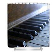 Piano Keys Shower Curtain by Jon Neidert