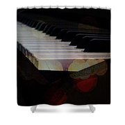 Piano Magic Shower Curtain