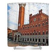 Piazza Del Campo Shower Curtain