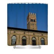 Piazza Maggiore Bologna Shower Curtain