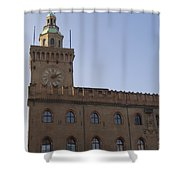 Piazza Maggiore Piazza Del Nettuno Shower Curtain