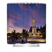 Piazzala Michelangelo Shower Curtain