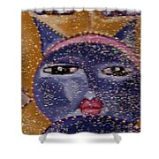Picasso Cats Shower Curtain