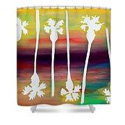 Pick Up Stix Shower Curtain