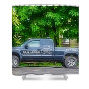 Pick Up Truck 2 Shower Curtain