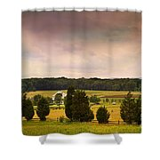 Pickets Charge - Gettysburg - Pennsylvania Shower Curtain
