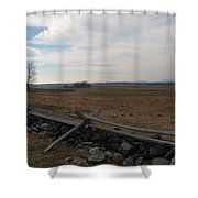 Picketts Charge The Angle Shower Curtain