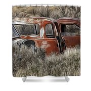 Pickup Cabs 1 Shower Curtain