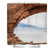 Picnic Of Possibilities Shower Curtain