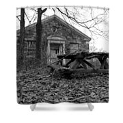 Picnicing Shower Curtain