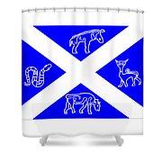 Pictish Scotland Flag 2 Shower Curtain