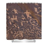 Pictographs 1 Shower Curtain