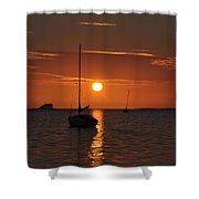 Picture Perfect Sunset Shower Curtain